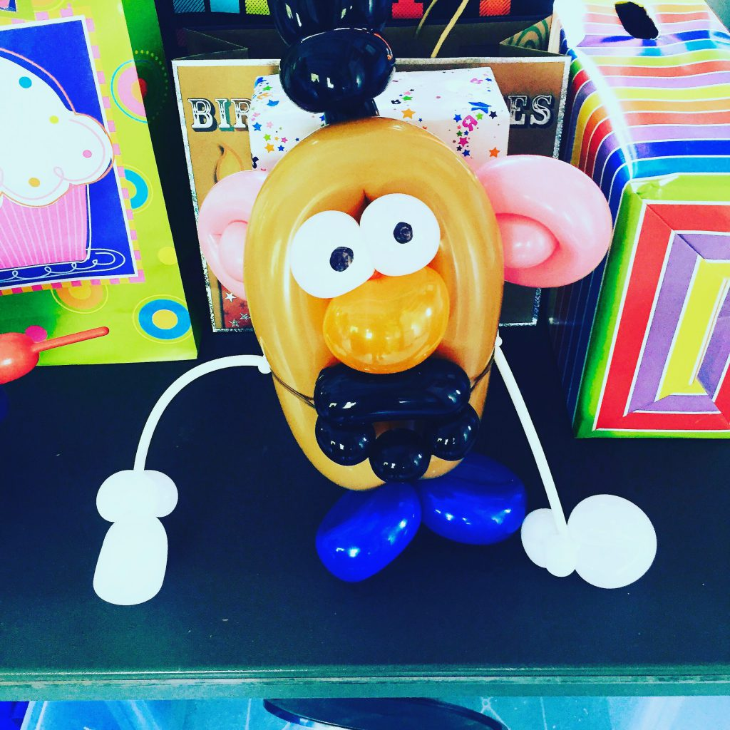 mr potato head balloon by TheBalloonGuyLA.com