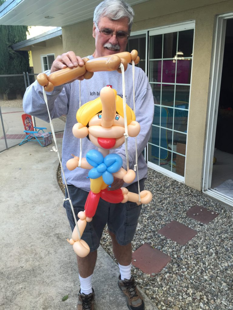 Pinocchio by The Balloon Guy