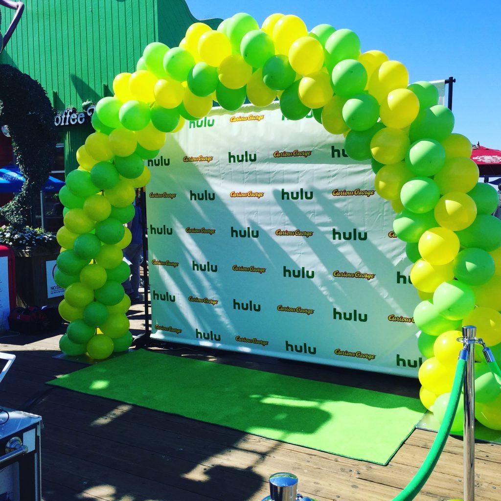 Hulu Balloon Arch
