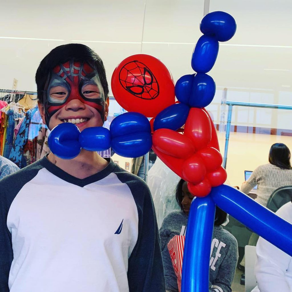 Spider Man Balloon by The BalloonGuyLA.com