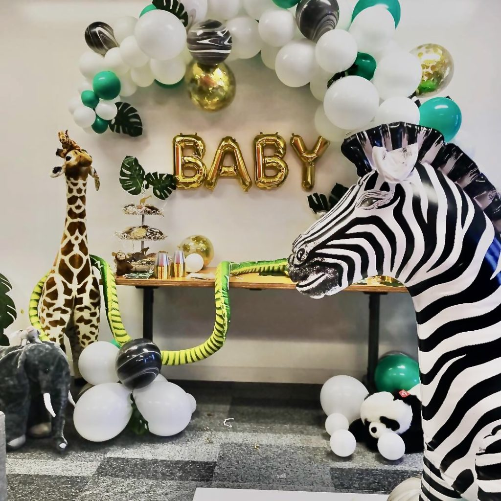baby shower balloons by The BalloonGuyLA.com