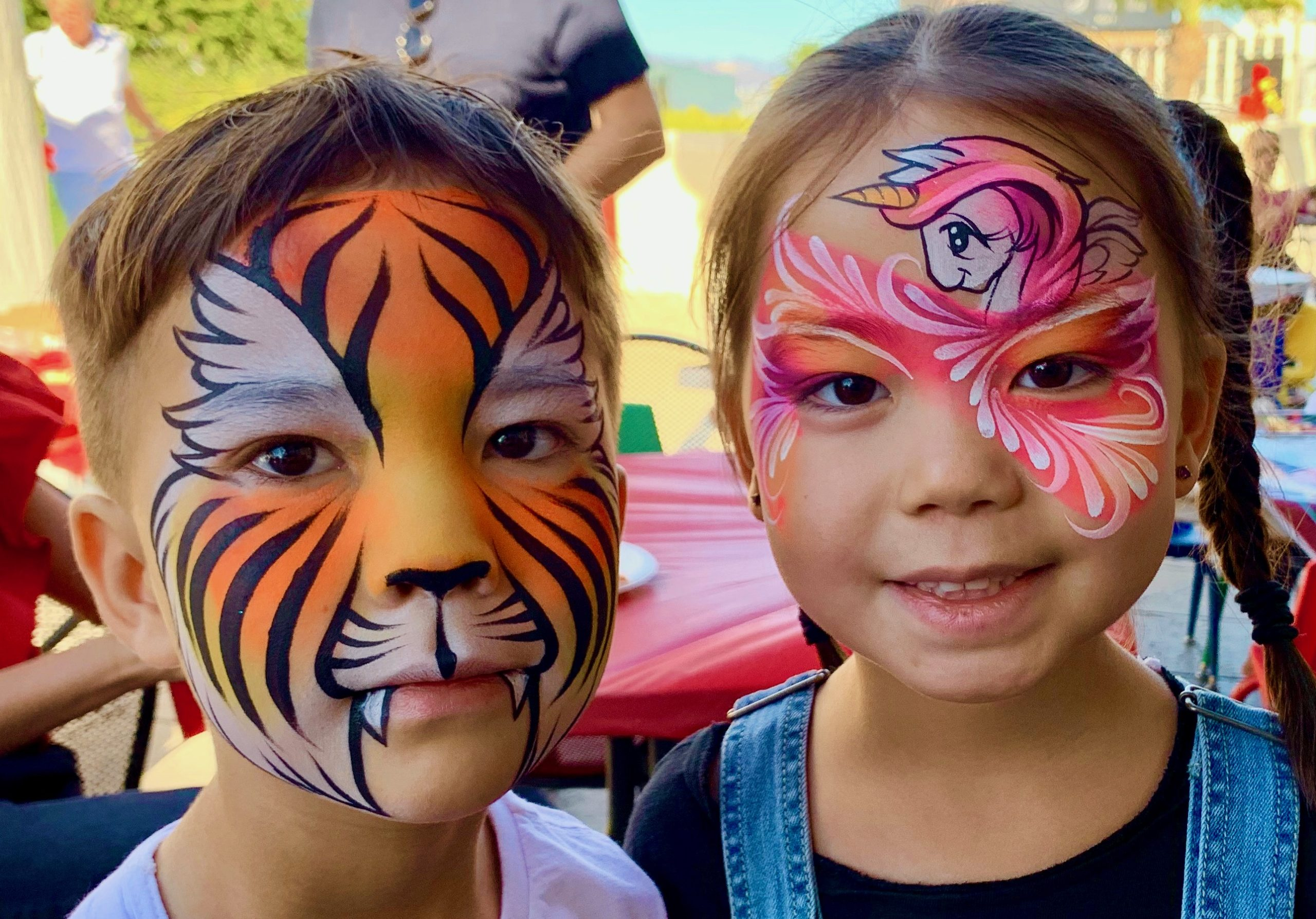 Face Painting by The Balloon Guy