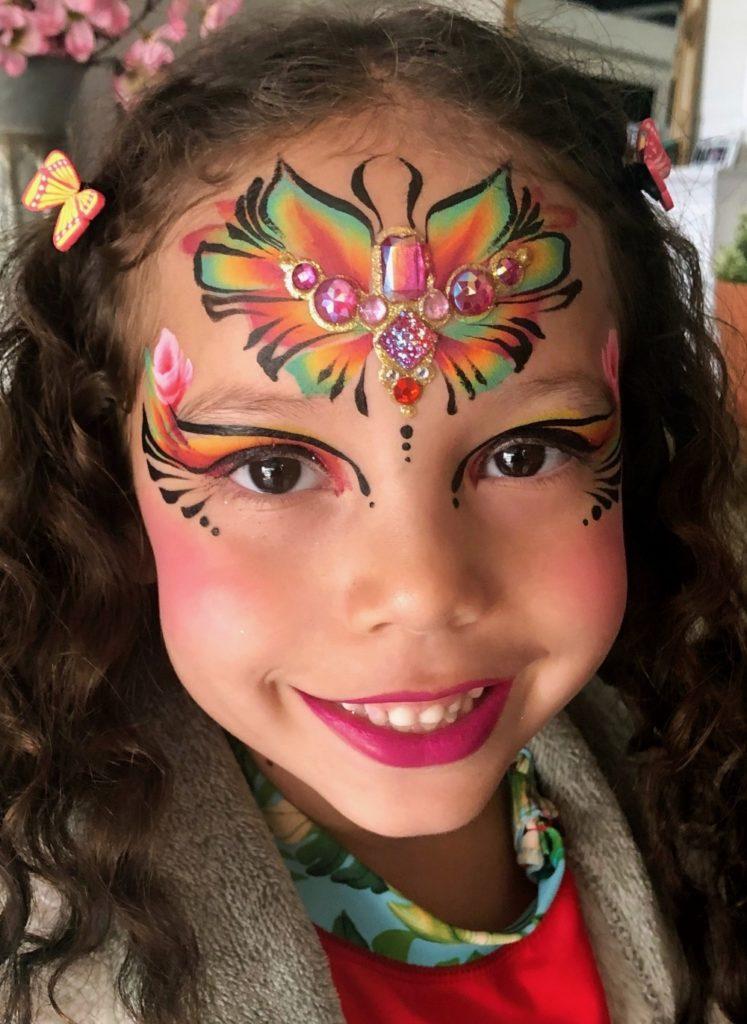 Princess Face Paint by TheBalloonGuyLA.com